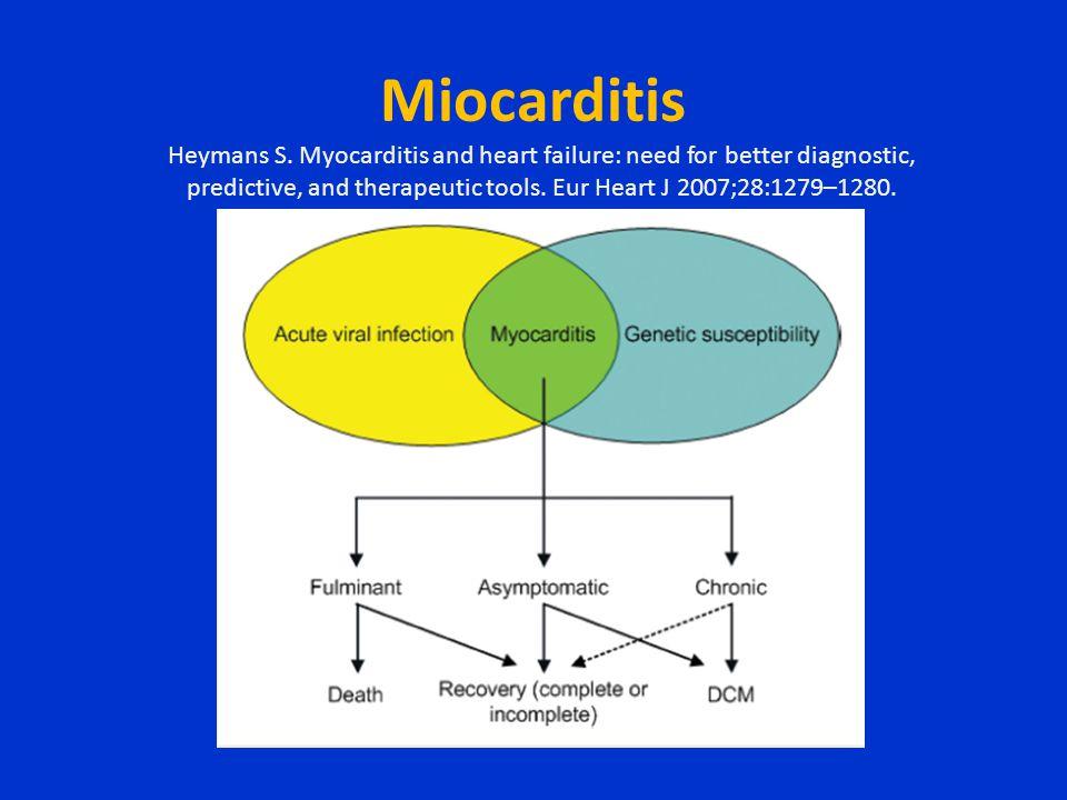 Miocarditis Heymans S.