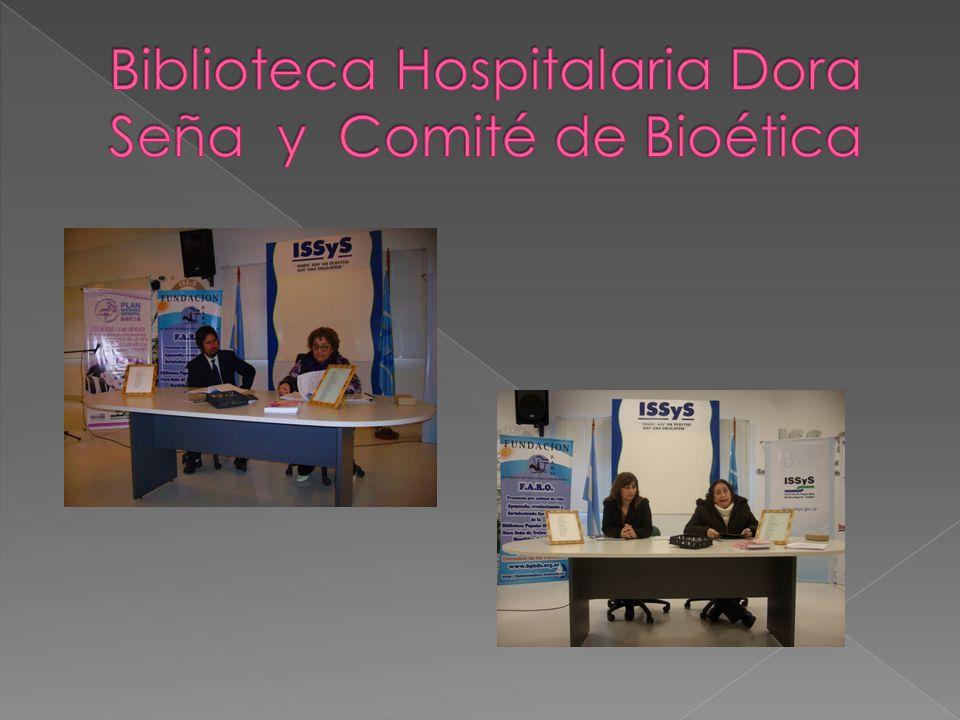 Biblioteca Hospitalaria Dora Seña y Comité de Bioética