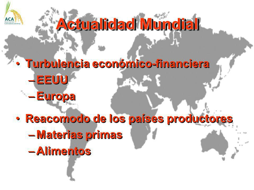 Actualidad Mundial Turbulencia económico-financiera EEUU Europa