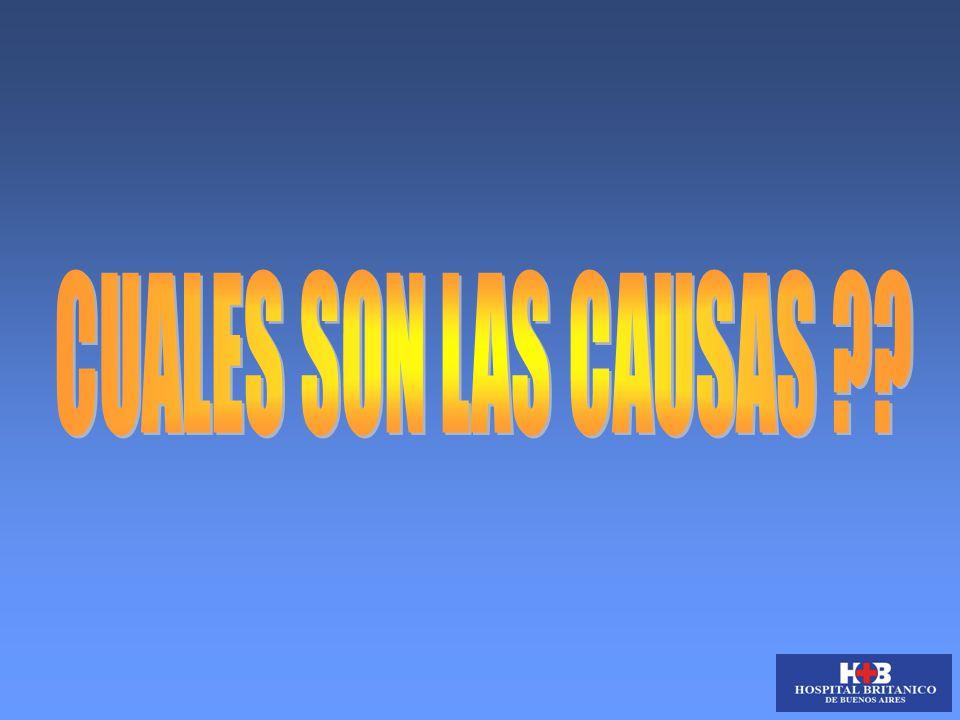 CUALES SON LAS CAUSAS