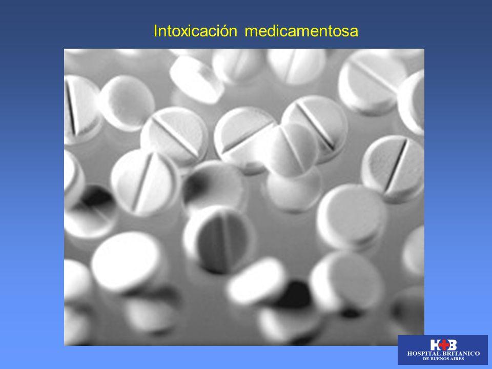 Intoxicación medicamentosa