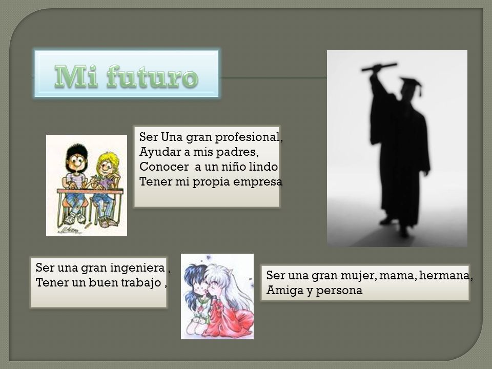 Mi futuro Ser Una gran profesional, Ayudar a mis padres,