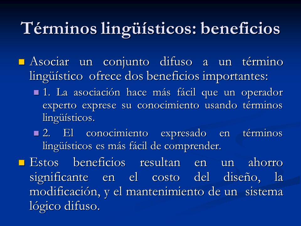 Términos lingüísticos: beneficios