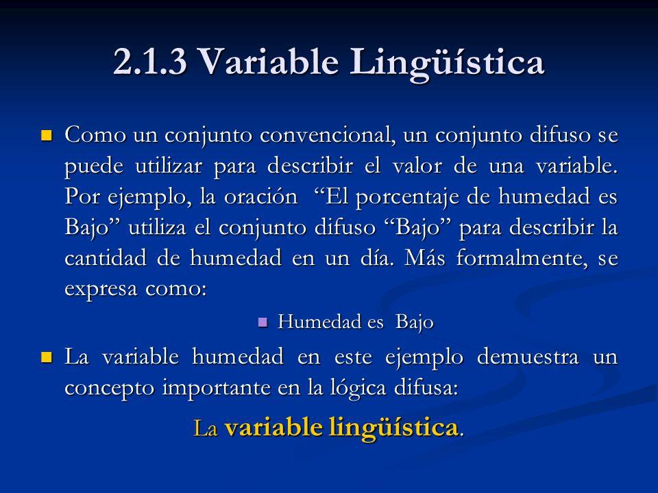 La variable lingüística.