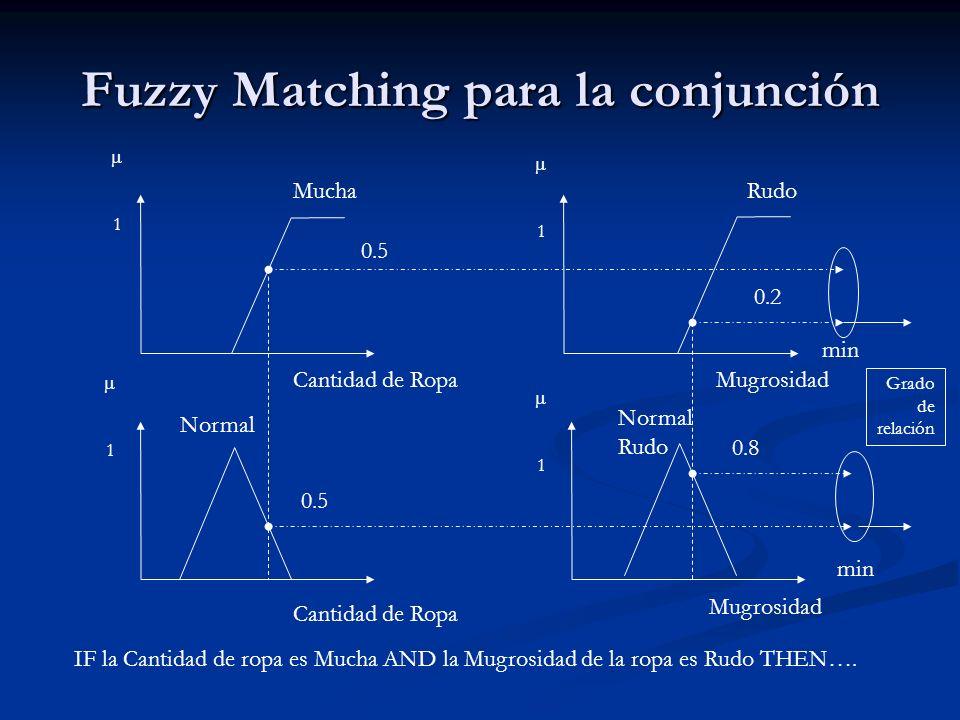 Fuzzy Matching para la conjunción