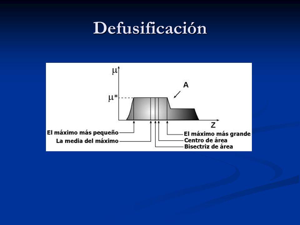 Defusificación