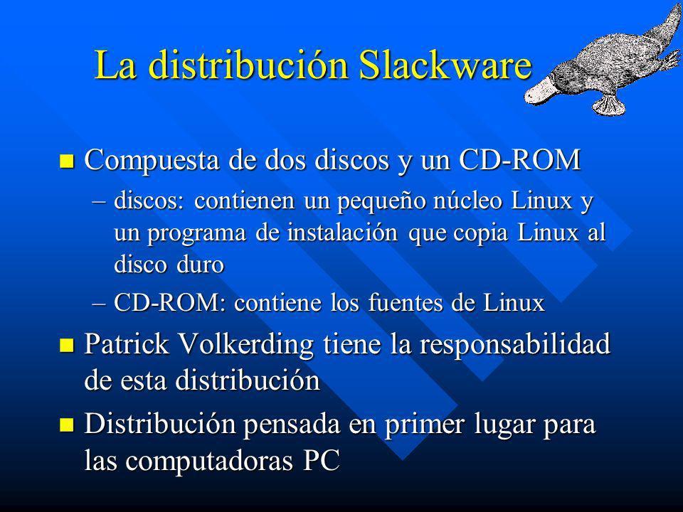 La distribución Slackware