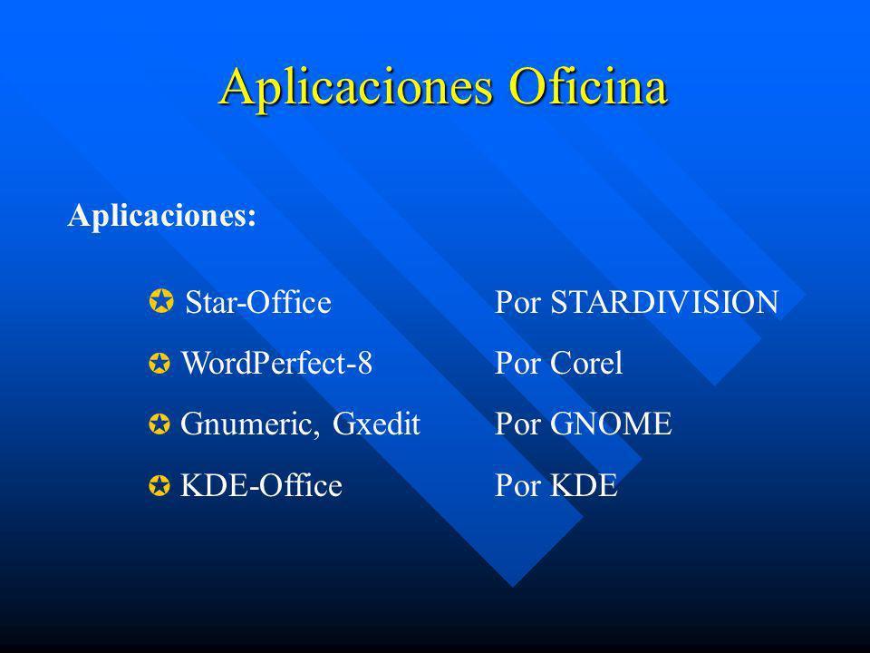 Aplicaciones Oficina Aplicaciones: Star-Office Por STARDIVISION