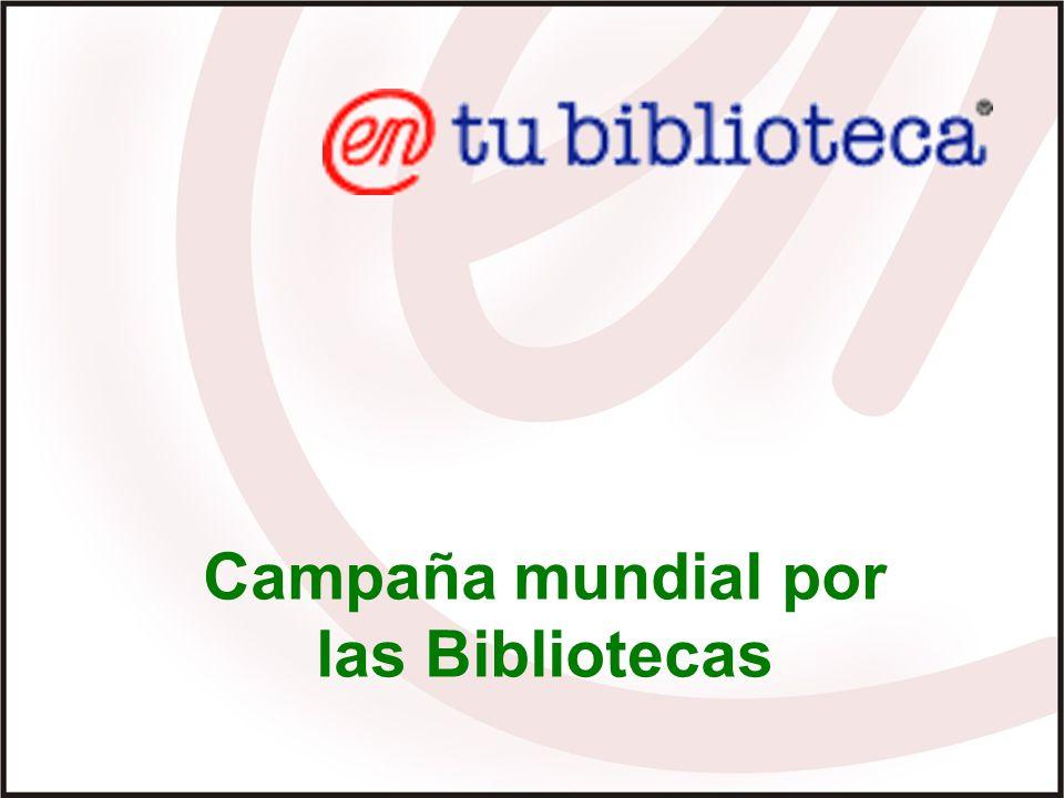 Campaña mundial por las Bibliotecas