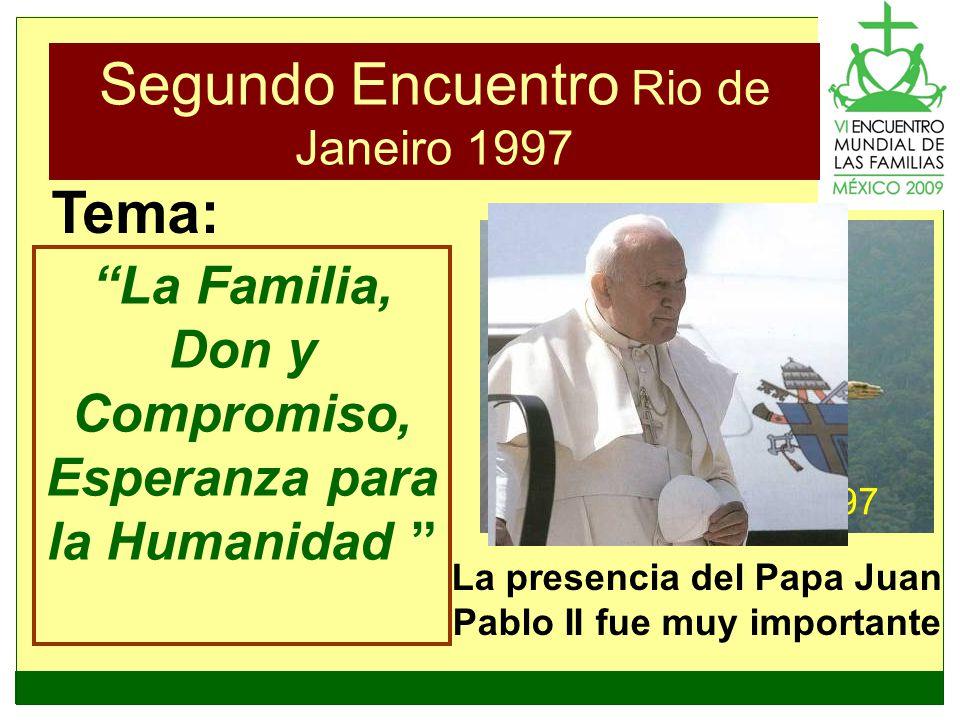 Segundo Encuentro Rio de Janeiro 1997