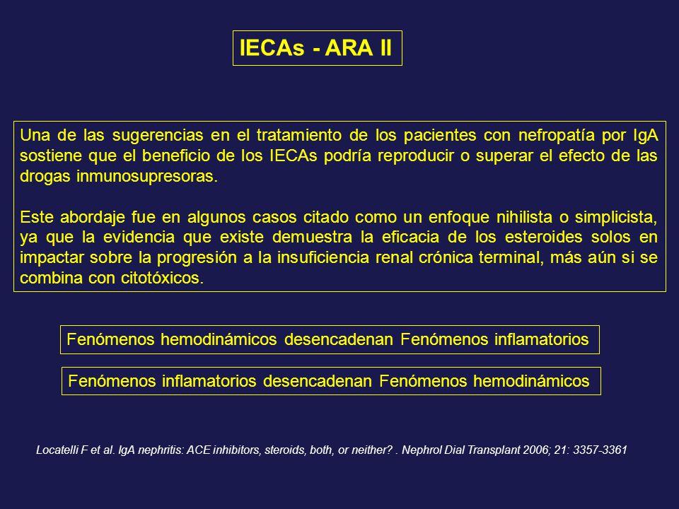 IECAs - ARA II
