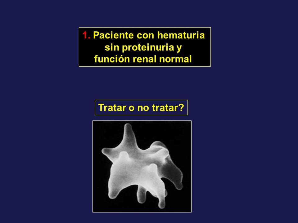 1. Paciente con hematuria