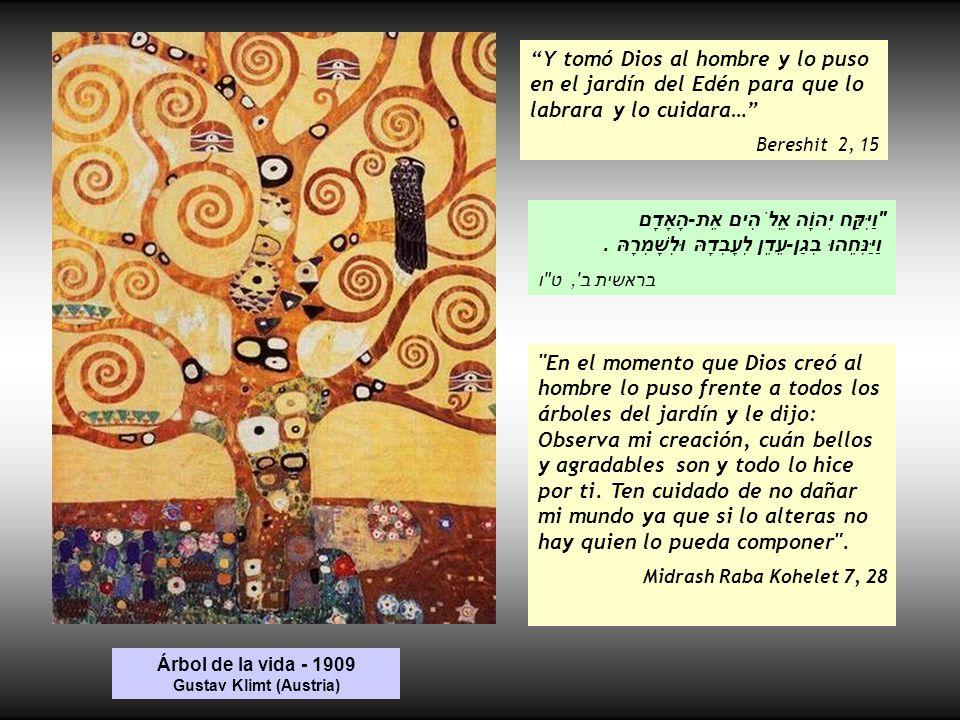 Árbol de la vida - 1909 Gustav Klimt (Austria)