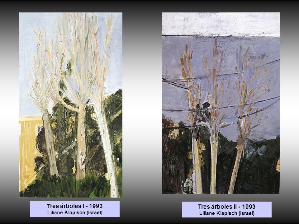 Tres árboles I - 1993 Liliane Klapisch (Israel)