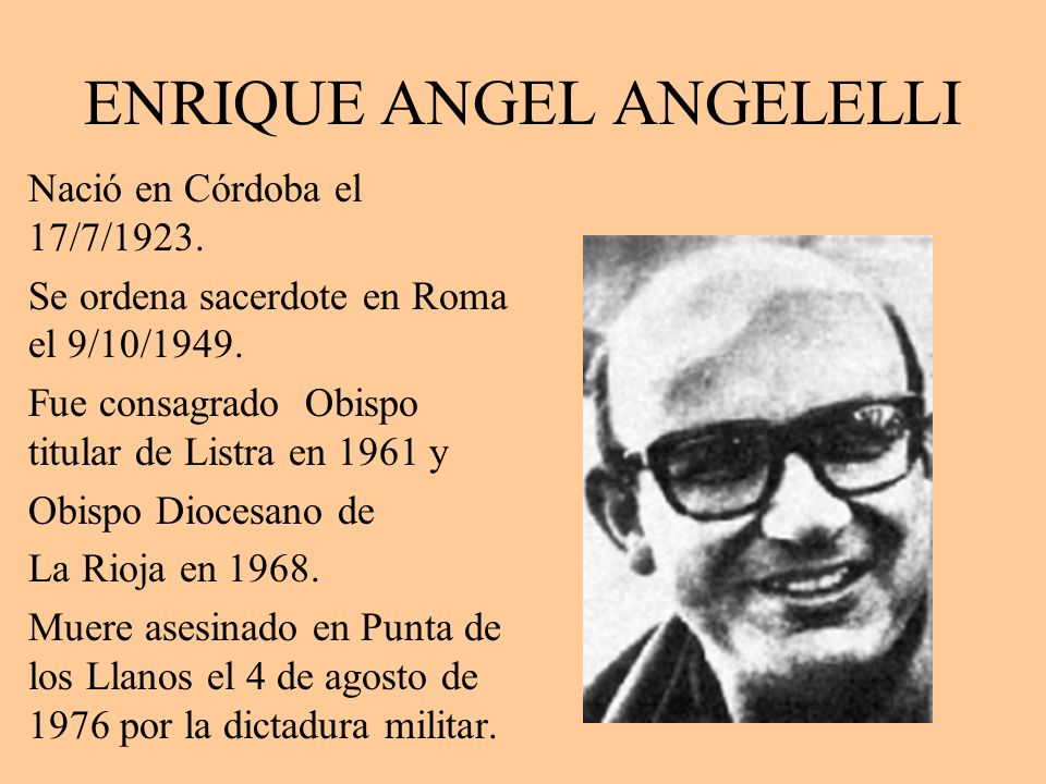 ENRIQUE ANGEL ANGELELLI