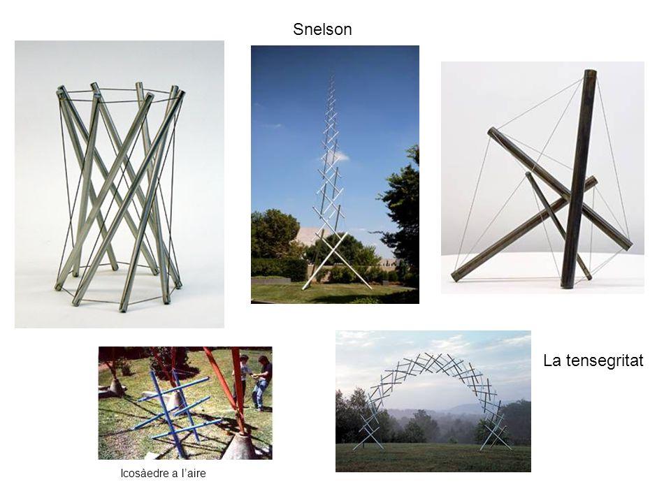 Snelson La tensegritat Icosàedre a l'aire