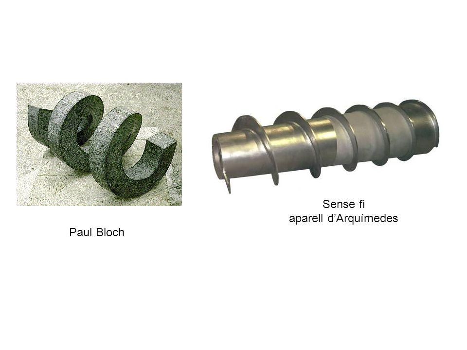Sense fi aparell d'Arquímedes Paul Bloch