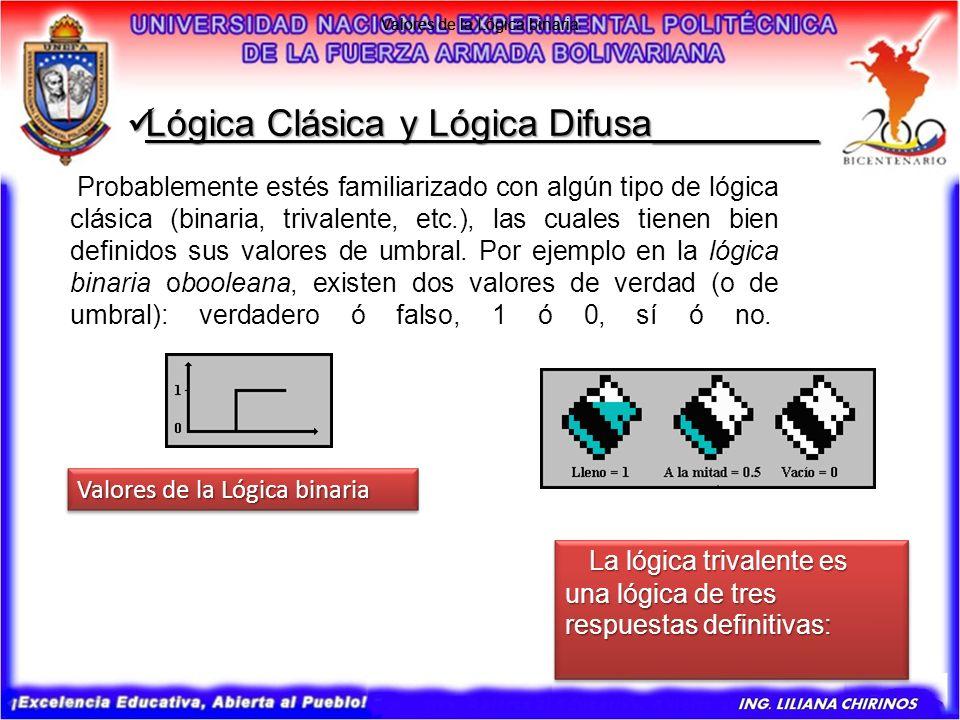 Lógica Clásica y Lógica Difusa________