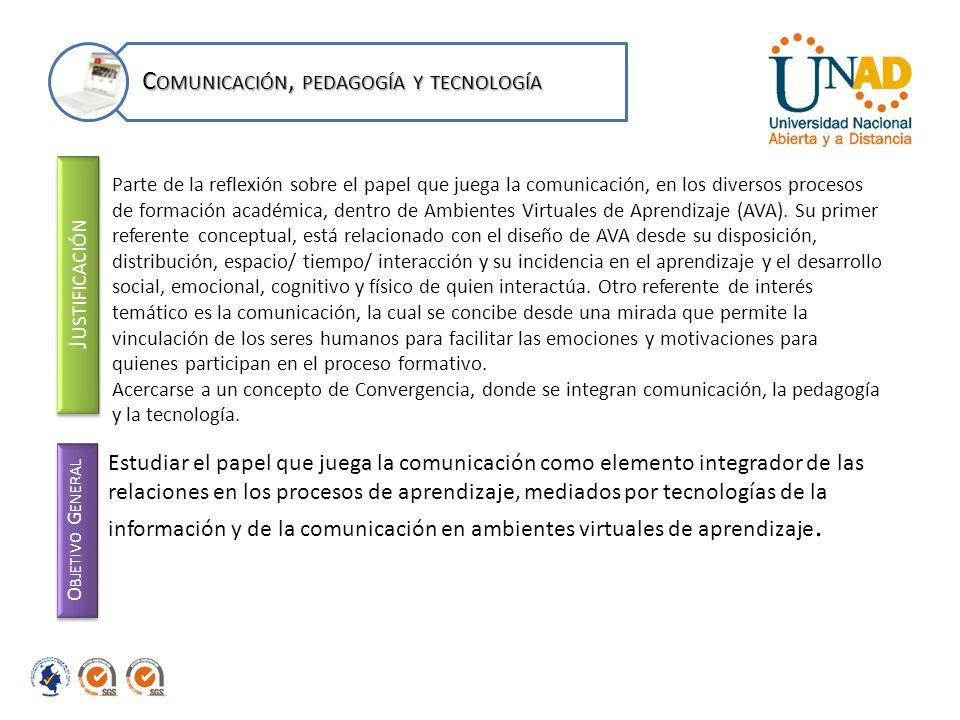 Comunicación, pedagogía y tecnología