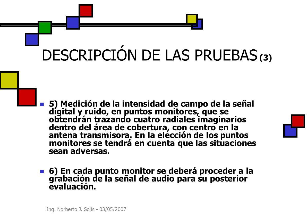 DESCRIPCIÓN DE LAS PRUEBAS (3)