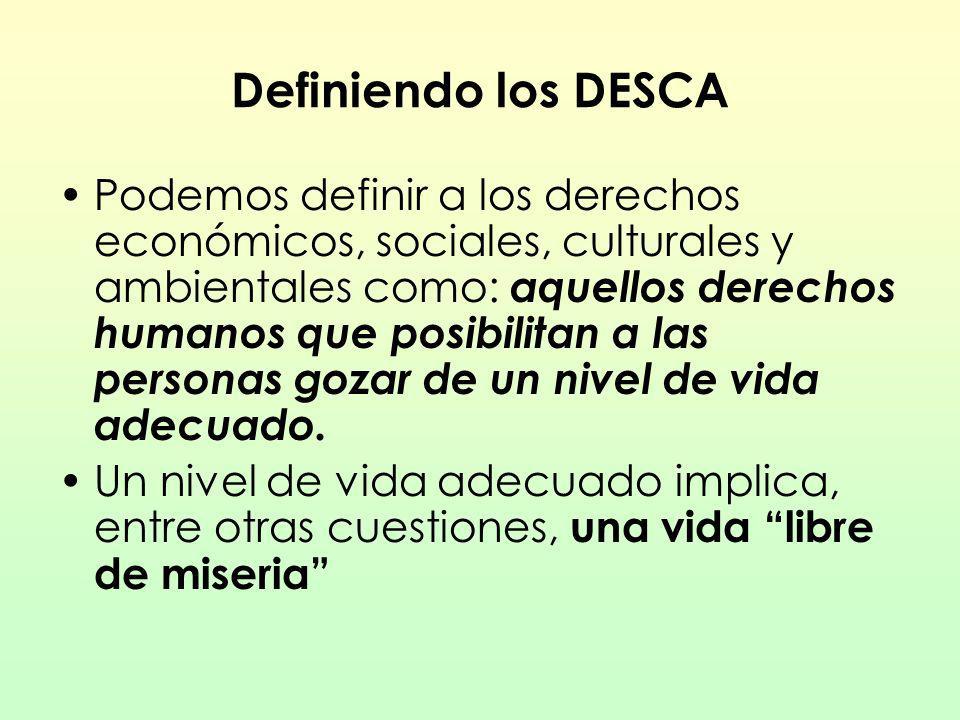 Definiendo los DESCA