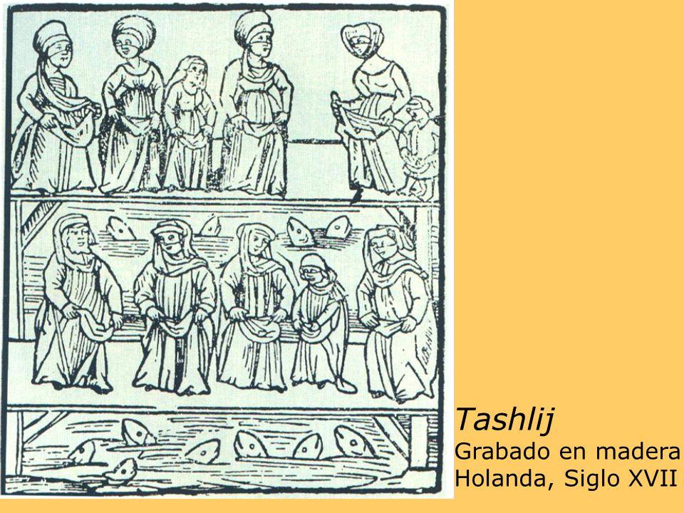 Tashlij Grabado en madera Holanda, Siglo XVII