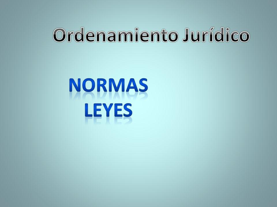 Ordenamiento Jurídico