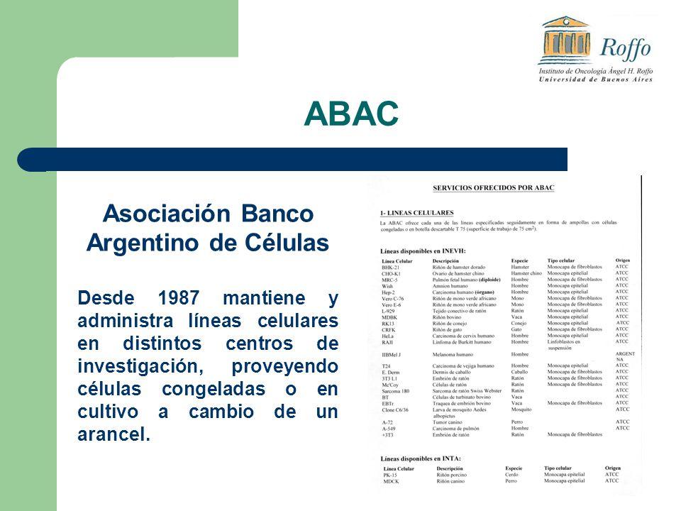 ABAC Asociación Banco Argentino de Células
