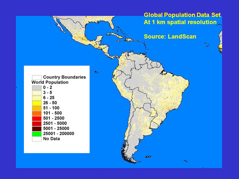 Global Population Data Set