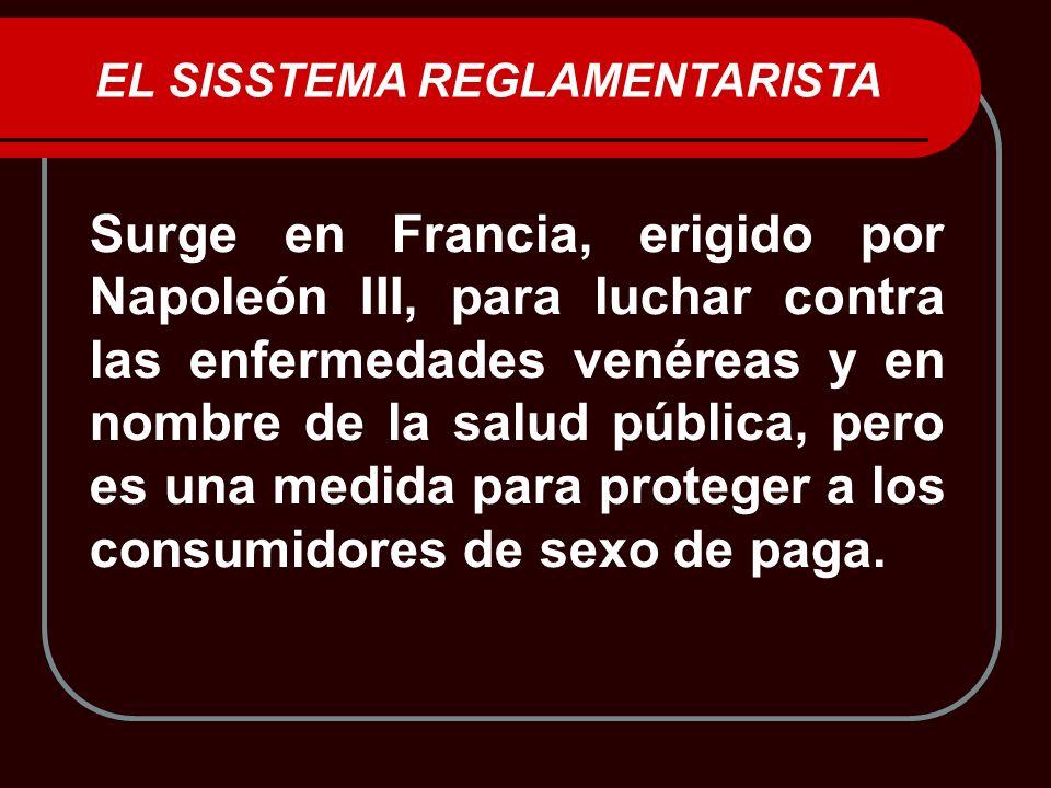 EL SISSTEMA REGLAMENTARISTA