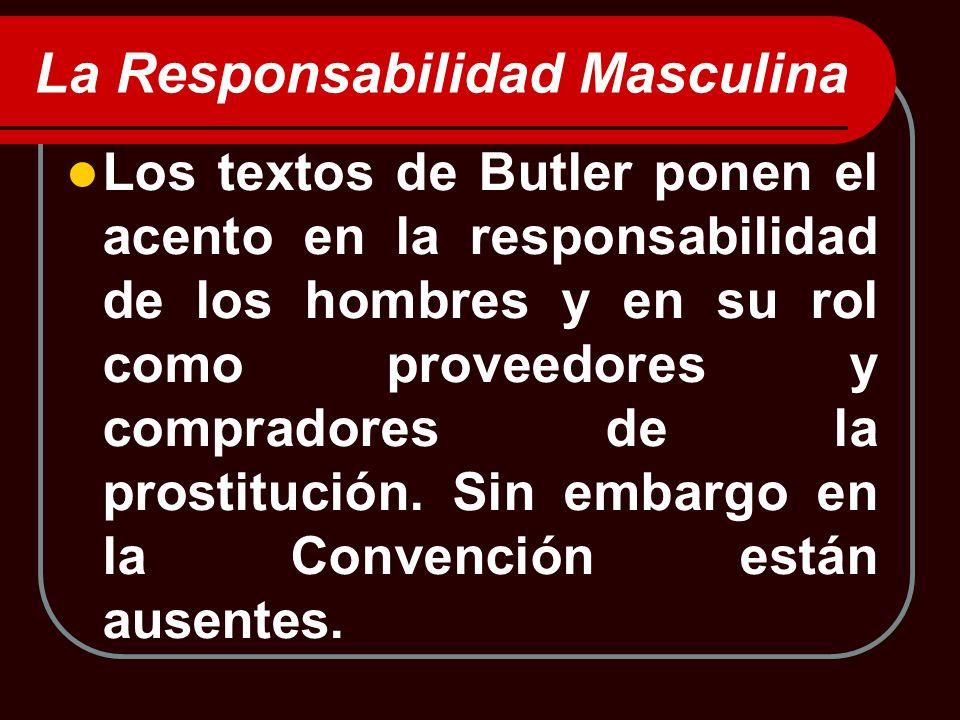 La Responsabilidad Masculina