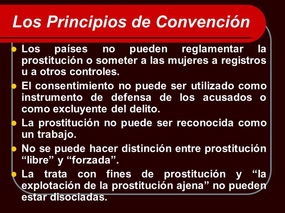 Los Principios de Convención