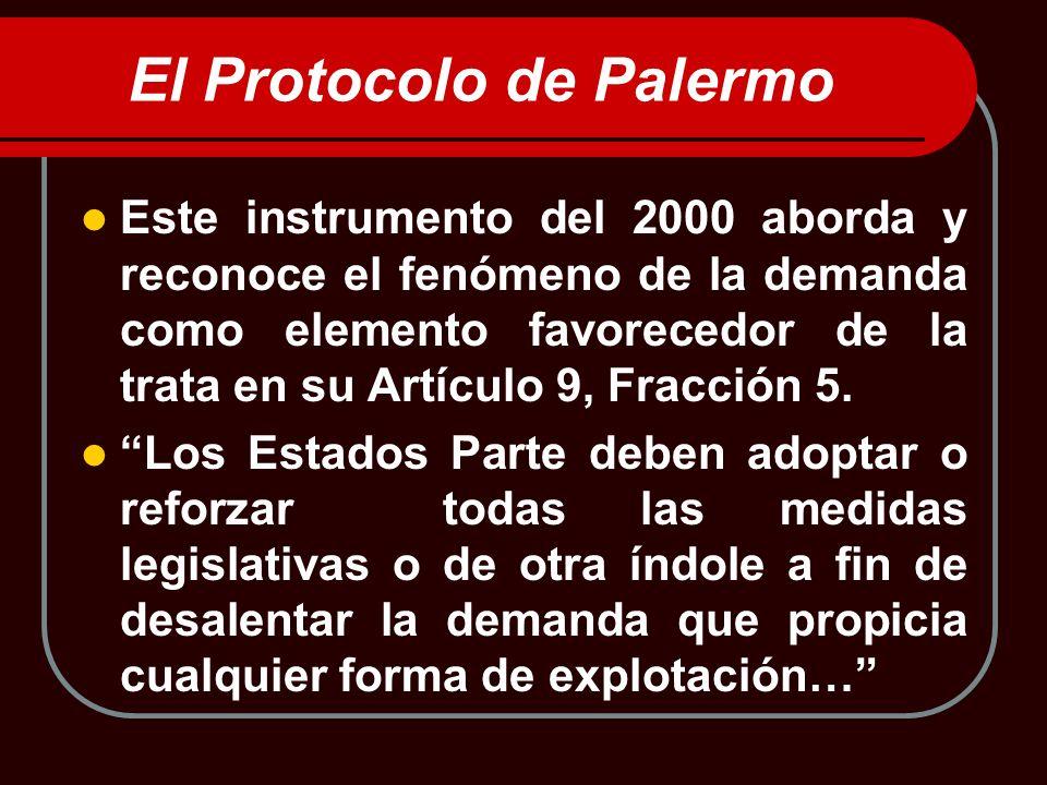 El Protocolo de Palermo