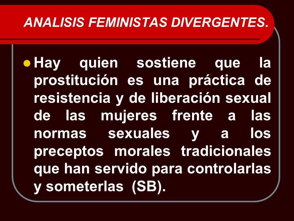 ANALISIS FEMINISTAS DIVERGENTES.