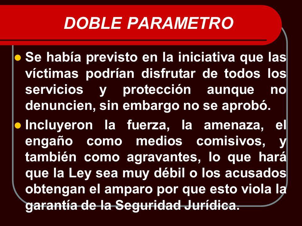 DOBLE PARAMETRO