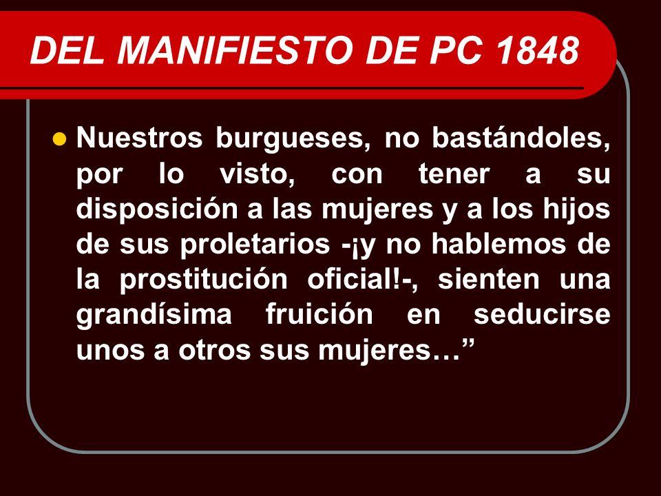 DEL MANIFIESTO DE PC 1848
