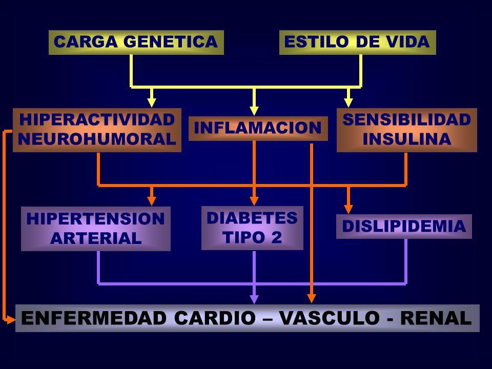 ENFERMEDAD CARDIO – VASCULO - RENAL