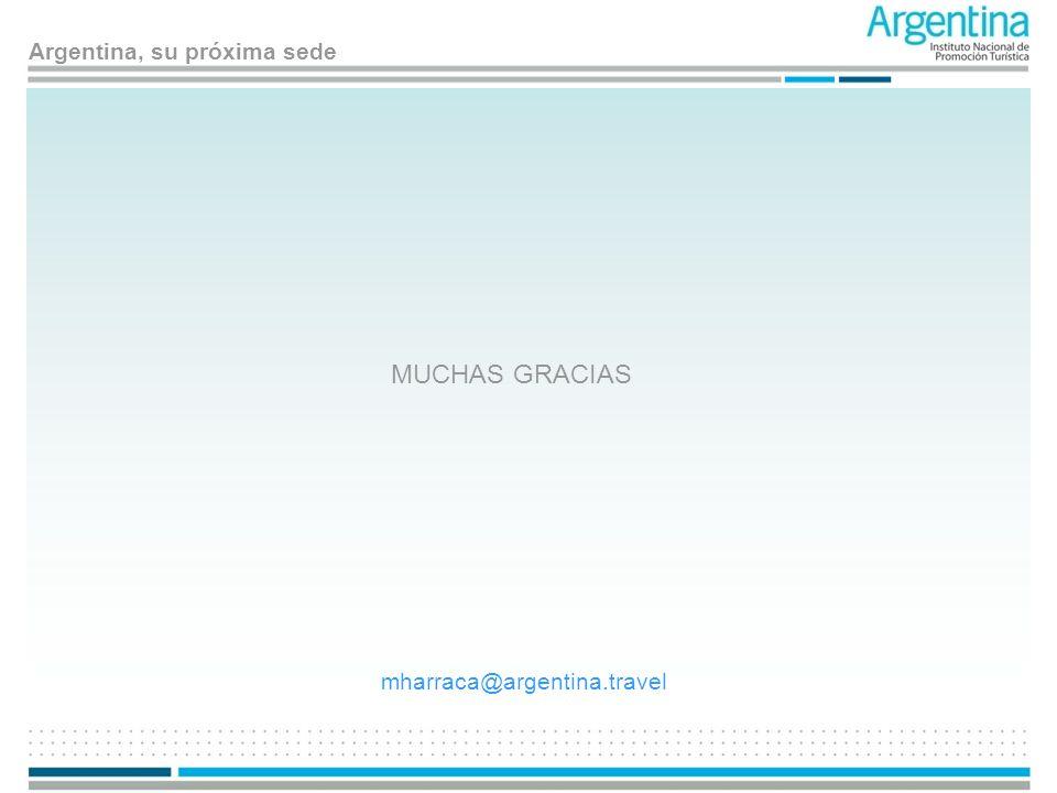 MUCHAS GRACIAS mharraca@argentina.travel