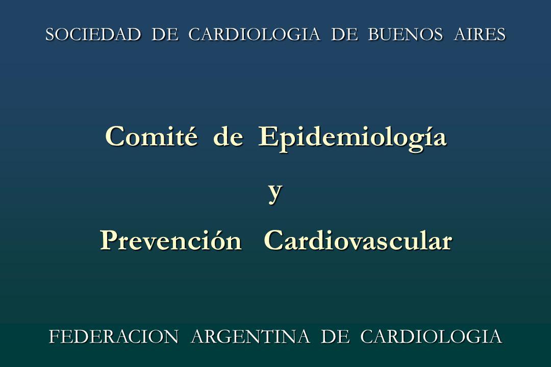 Comité de Epidemiología Prevención Cardiovascular