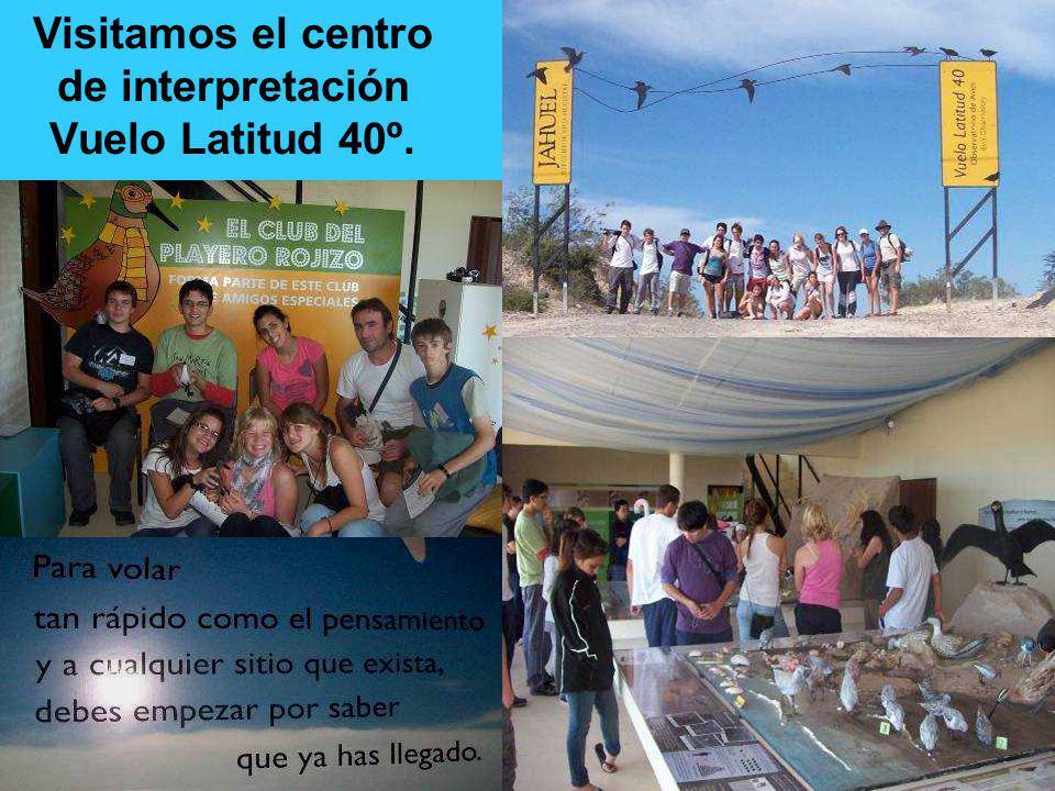 Visitamos el centro de interpretación Vuelo Latitud 40º.