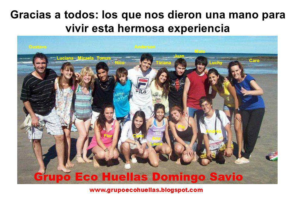 Grupo Eco Huellas Domingo Savio