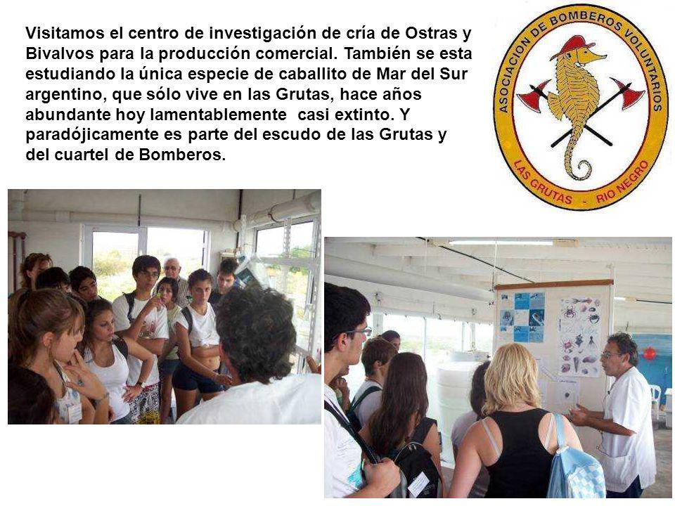 Visitamos el centro de investigación de cría de Ostras y Bivalvos para la producción comercial.