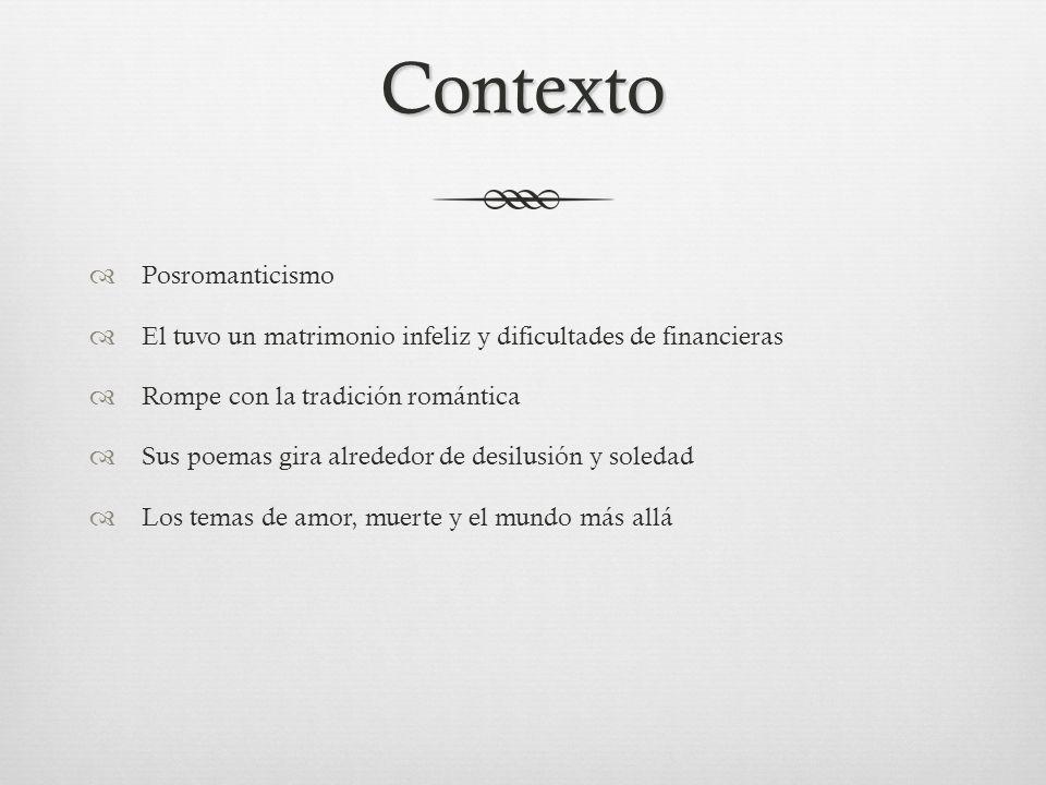 Contexto Posromanticismo