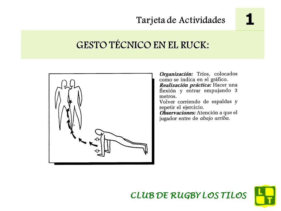 GESTO TÉCNICO EN EL RUCK: