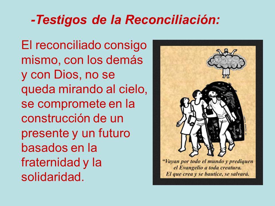 -Testigos de la Reconciliación: