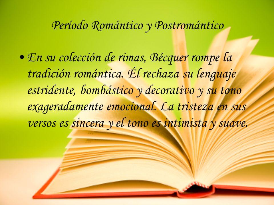 Período Romántico y Postromántico