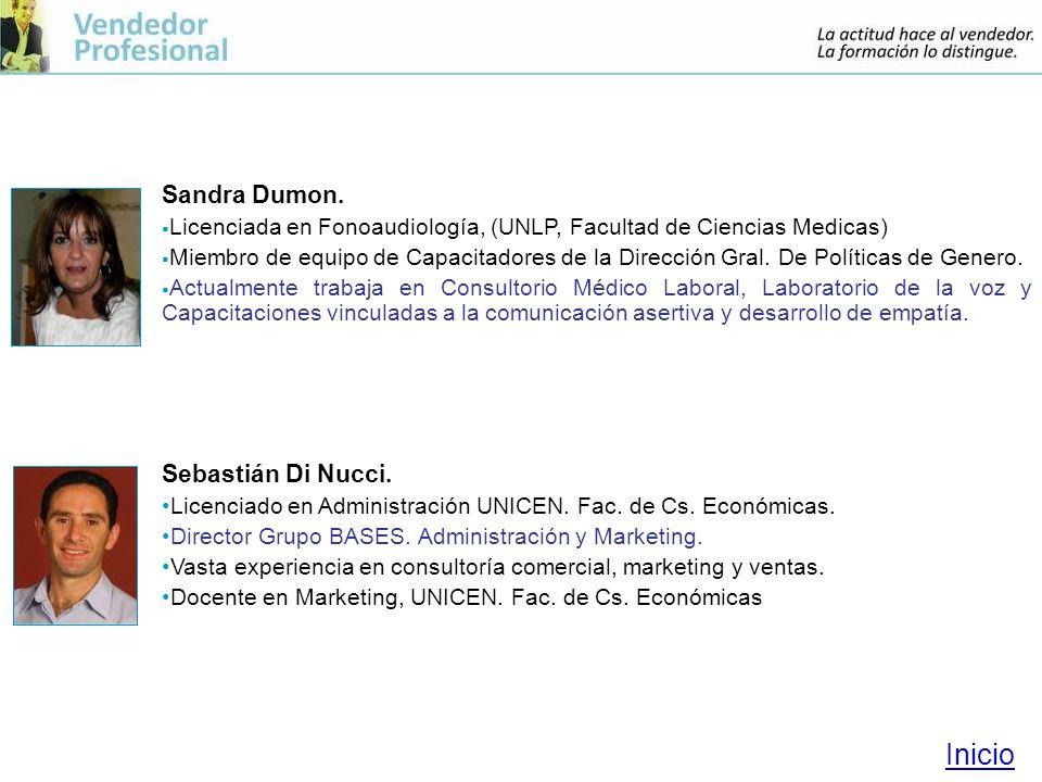Inicio Sandra Dumon. Sebastián Di Nucci.
