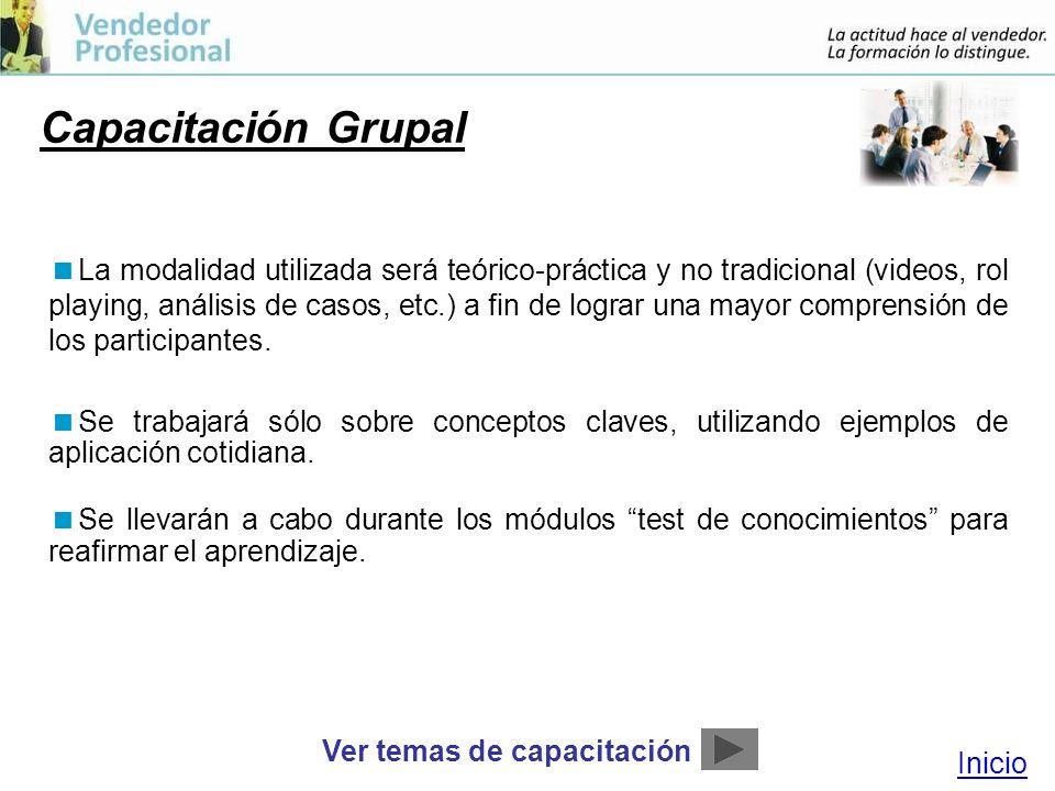 Capacitación Grupal
