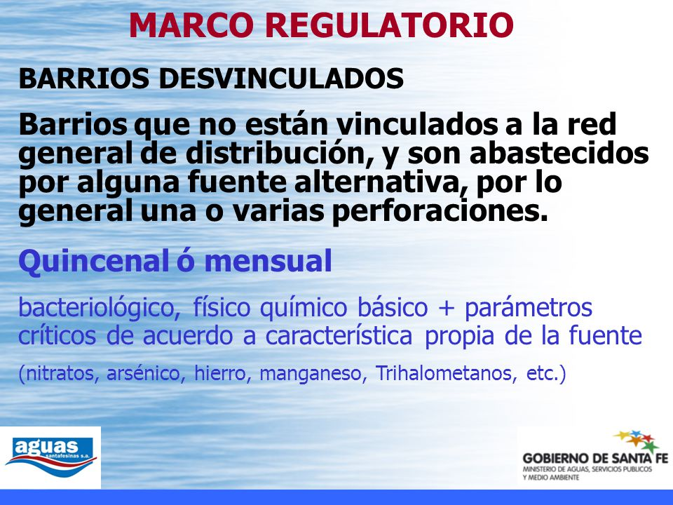 MARCO REGULATORIO BARRIOS DESVINCULADOS.