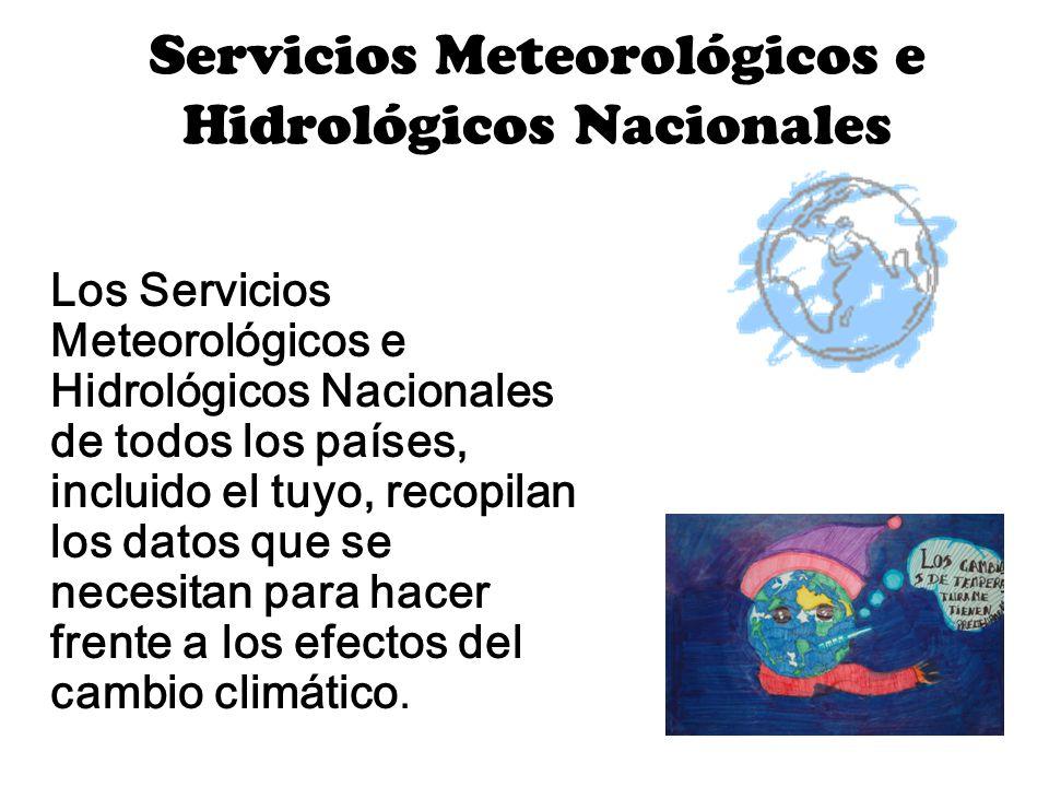 Servicios Meteorológicos e Hidrológicos Nacionales